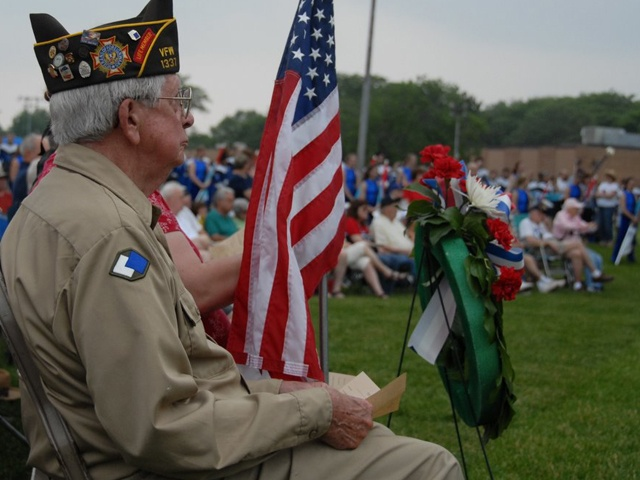 EXTRAORDINARY MEMORIAL DAY CEREMONY PLANNED FOR MOUNT PROSPECT'S LIONS PARK THIS MAY 28th