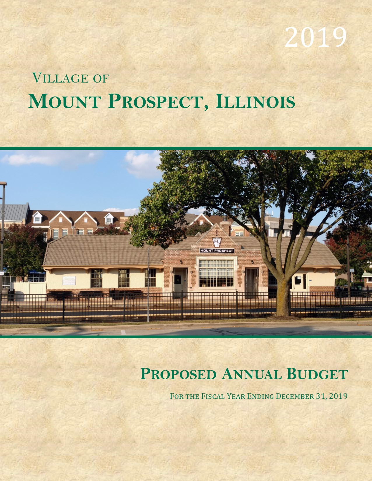 COVER for Prelim Budget