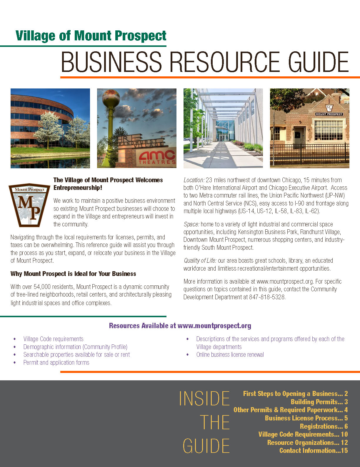 Business Resource Guide Front Page Image