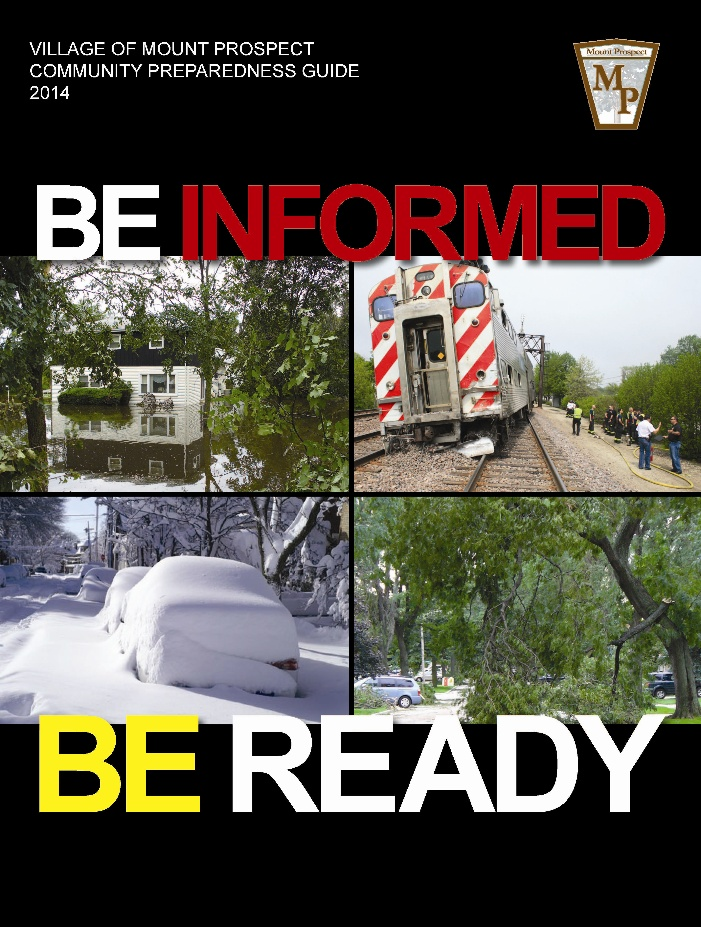 Emergency Preparedness Guide 2014 Cover
