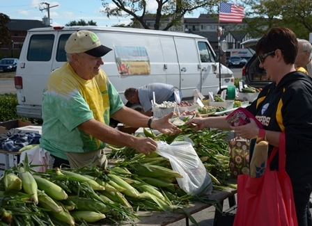 Farmers Market Corn Vendor