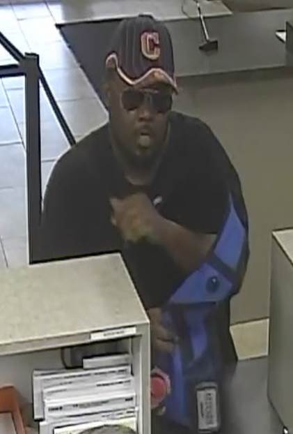 Attempted Bank Robbery Suspect 05-06-15