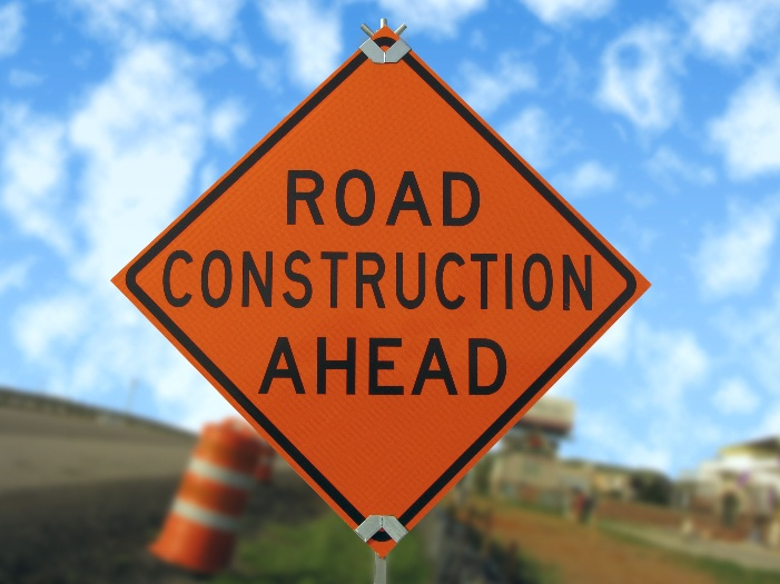 Road Construction istock image sign