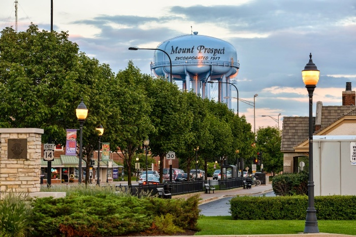 mount prospect around town water tower LR 50 of 74