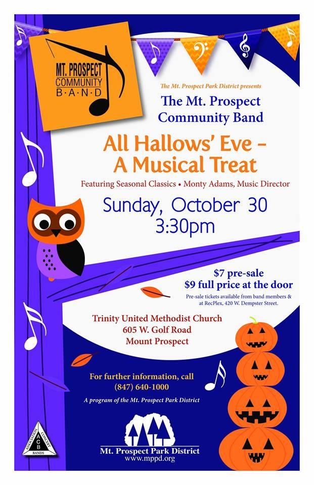 Mt Prospect Community Band Concert Calendar Meeting List