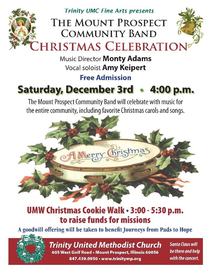 Mt Prospect Community Christmas Celebration Concert Custom News
