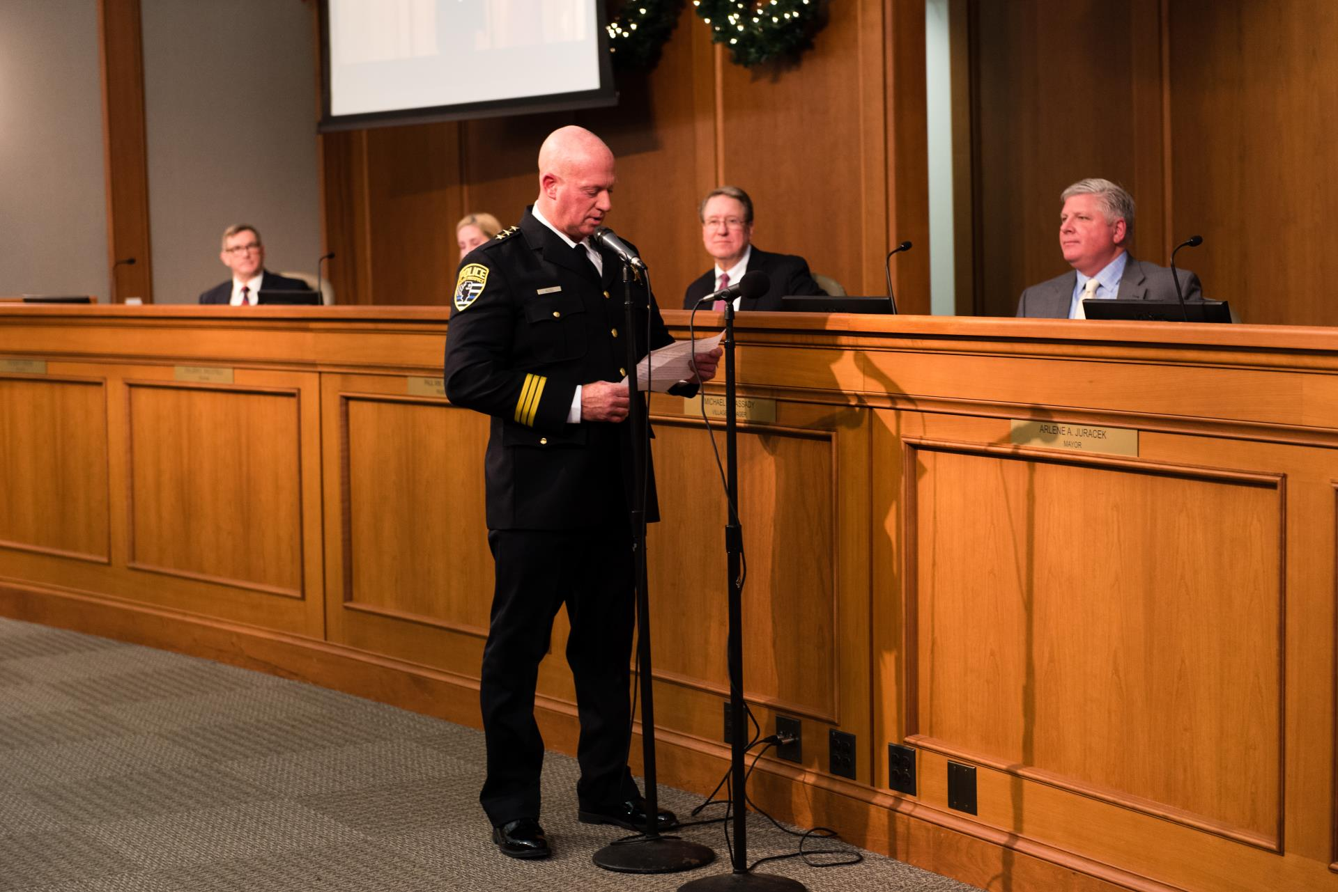 Chief Koziol Swearing-In Ceremony Final-4227