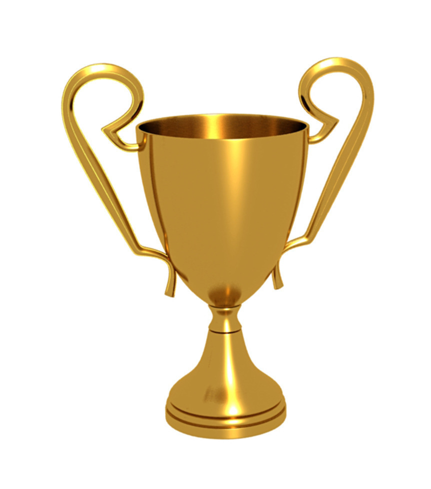 Gold Trophy Stock Illustration