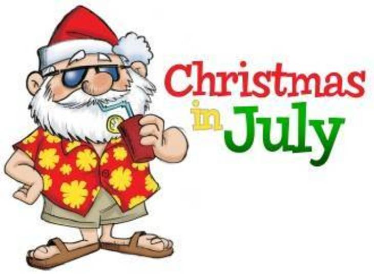 Christmas In July Images Free.River Trails Park District Christmas In July Calendar