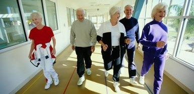 senior walking club