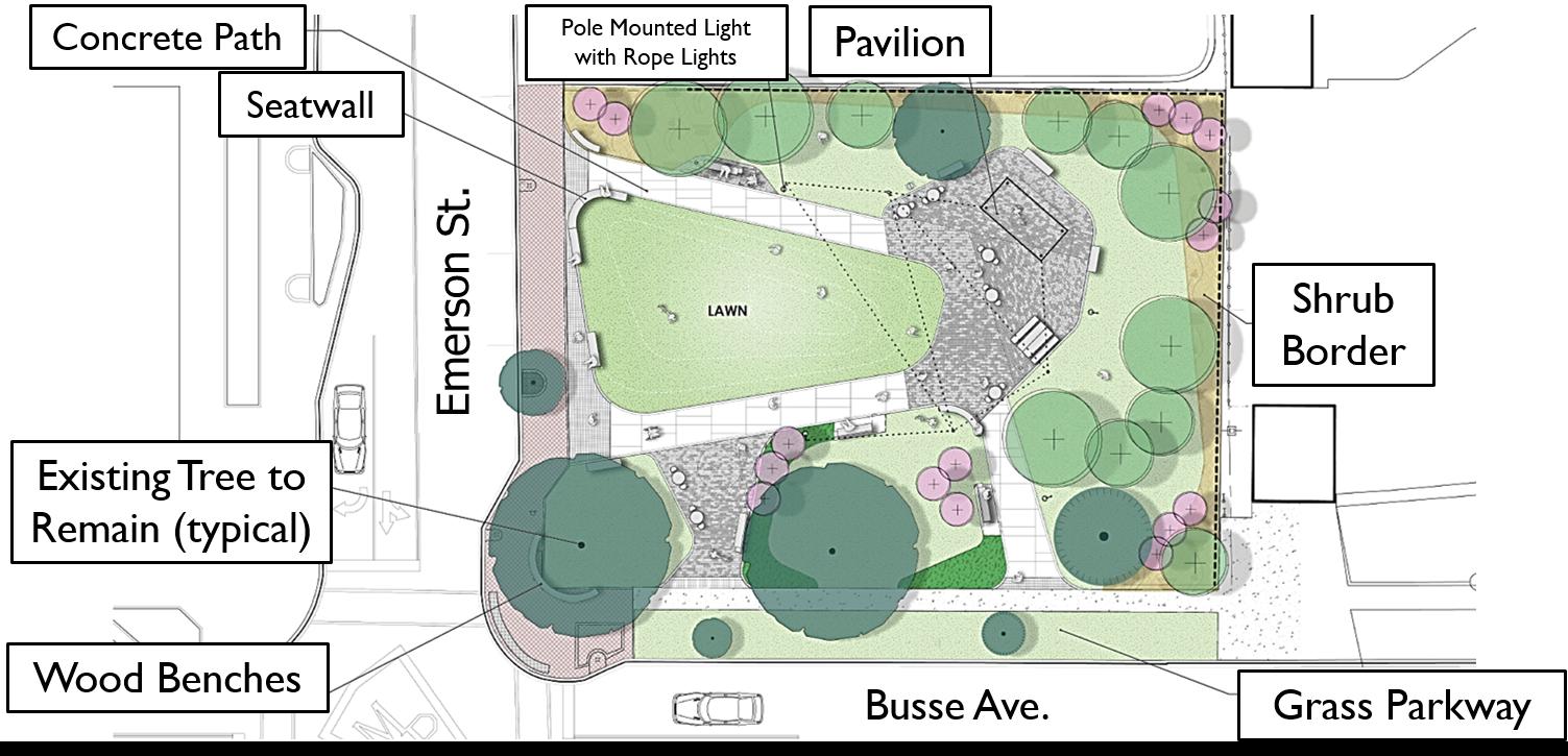 Edwin and Elsie (Meyn) Busse Park | Village of Mount Prospect, IL