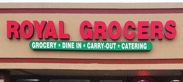 Royal Grocers logo
