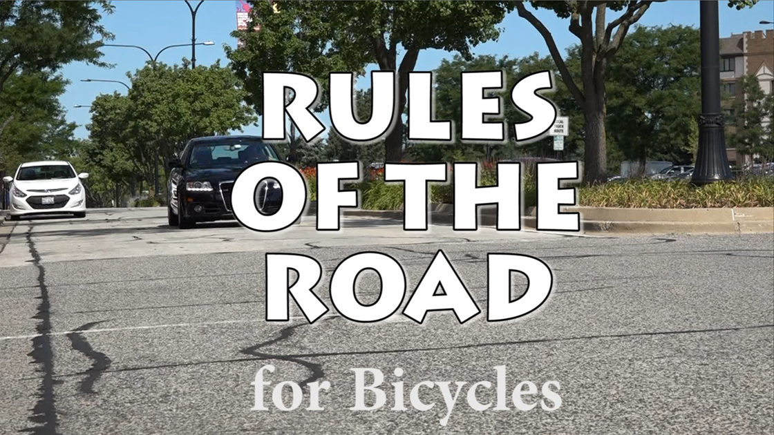 Bicycle Rules of the Road Graphic